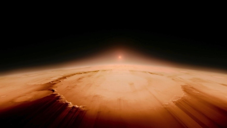 """This image released by IMAX shows a scene from """"Voyage of Time,"""" by filmmaker Terrence Malick, opening in IMAX theaters on Friday. (IMAX via AP)"""