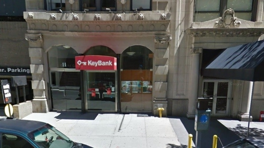 Bertini was accused of breaking into a KeyBank in New York City among other locations.