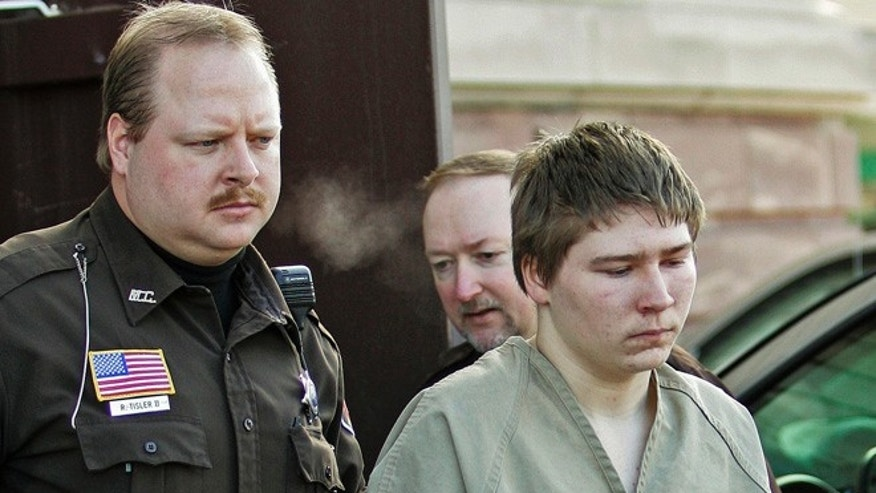 In this March 3, 2006, file photo, Brendan Dassey is escorted out of a Manitowoc County Circuit courtroom in Manitowoc, Wis.