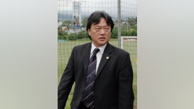 FILE - In this Dec. 2, 2008, file photo, Eduardo Li, then-president of Costa Rica's National Soccer Federation, is shown in Santa Ana, Costa Rica. The former head of the Costa Rican soccer federation has pleaded guilty in New York to conspiracy and other charges. Eduardo Li admitted in Friday's, Oct. 7, 2016, plea that he took hundreds of thousands of dollars in bribes from sports marketing executives and others. (AP Photo/Kent Gilbert, File)