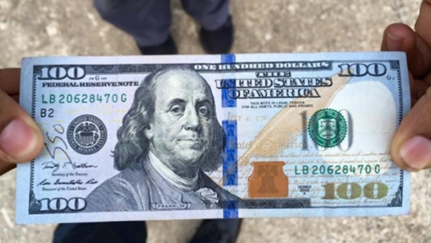 Stranger gave this $100 to a woman who couldn't afford a tow truck after her car broke down. (Dunwoody Police Department)