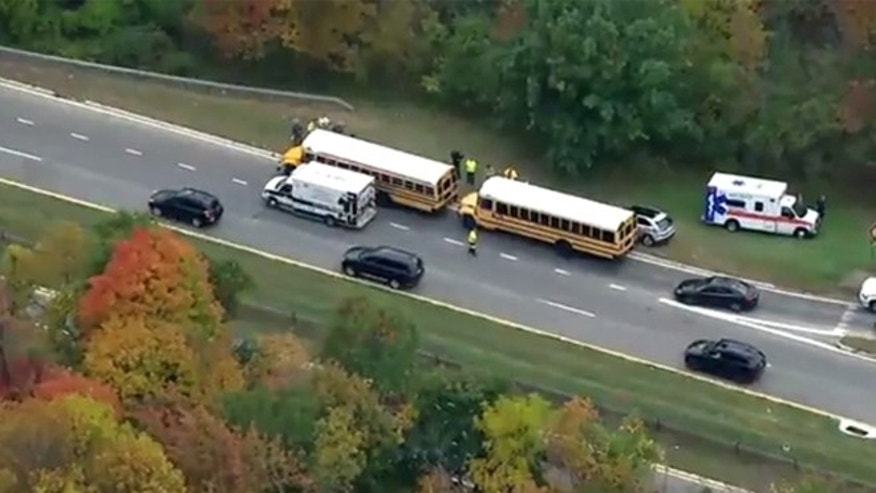 NY school bus crash