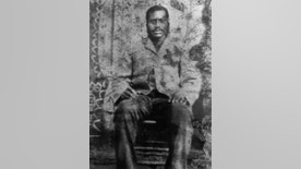 Anthony Crawford is seen in this undated photo provided by the Crawford Family. Crawford was a wealthy black farmer in Abbeville County, South Carolina, lynched by a white mob in 1916. Descendants of Anthony Crawford will honor him and unveil a historical marker Saturday, Oct. 22, 2016, in a ceremony outside the Abbeville Opera House.  (Courtesy of the Crawford family via AP)