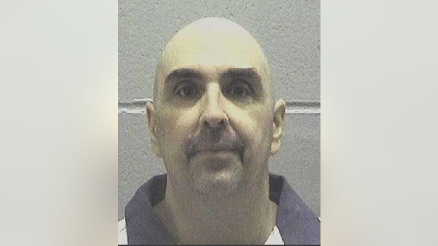 In this undated photo made available by the Georgia Department of Corrections, shows Steven Frederick Spears. Georgia Department of Corrections Commissioner Homer Bryson announced Thursday, Oct. 27, 2016, that Spears is scheduled to die on Nov. 16 at the state prison in Jackson. Spears was convicted of murder in the August 2001 death of Sherri Holland at her home in Dahlonega, GA. (Georgia Department of Corrections via AP)