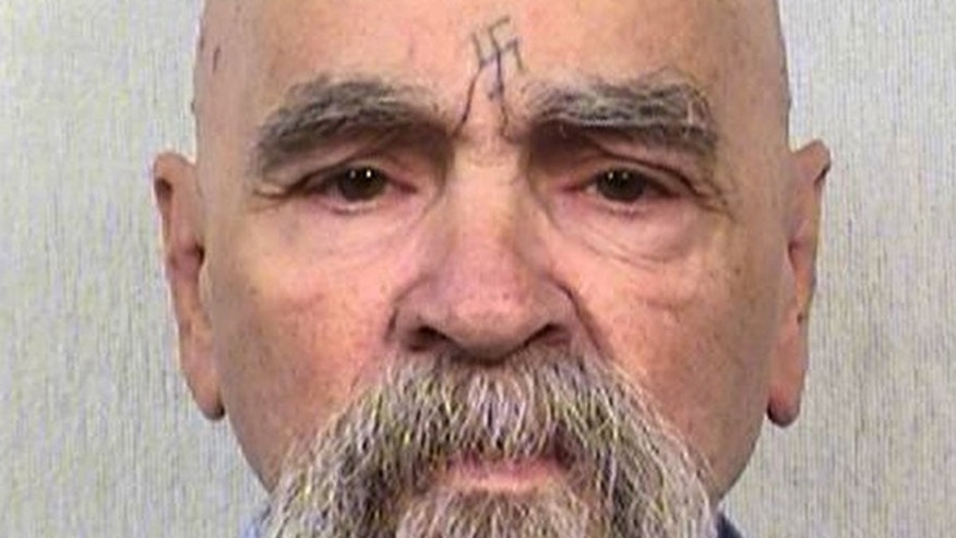 This Oct. 8, 2014 photo provided by the California Department of Corrections shows serial killer Charles Manson