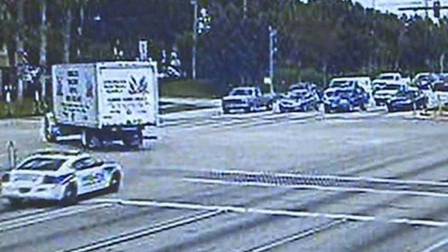 Haines City Police Officer Tim Glover spotted his car in the Sept. 8 video.