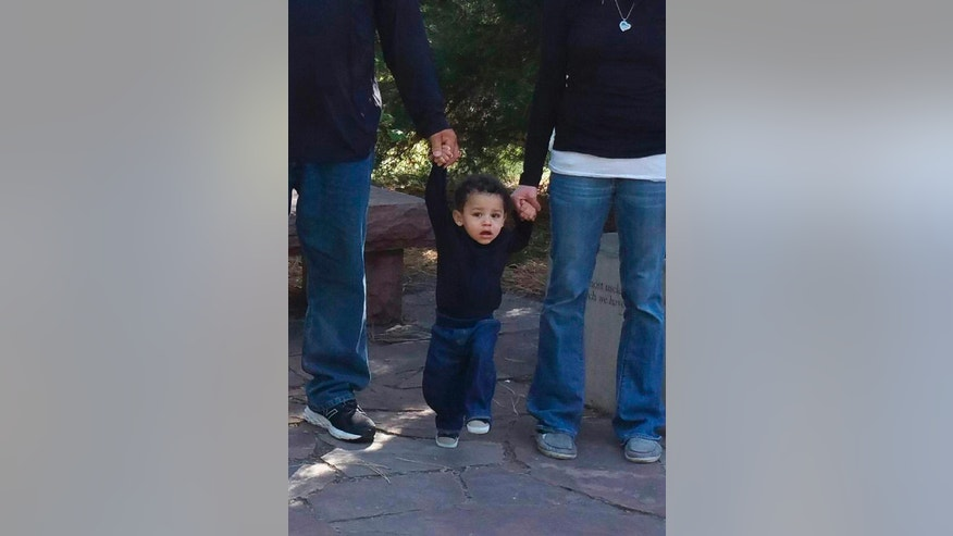 An undated family photo shows 13-month old, Silas Anthony Ojeda of Cheyenne, Wyo. (Richard Ojeda via AP)