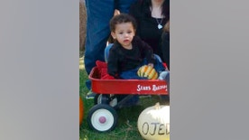 FILE - This undated family file photo shows Silas Anthony Ojeda of Cheyenne, Wyo. Police say Logan Hunter Rogers, accused of manslaughter in the death of the missing 13-month-old boy, exposed him to methamphetamine before the boy died. A criminal complaint released Monday, Oct. 31, 2016, charges Rogers, 23, of Cheyenne, with involuntary manslaughter and child endangering with a controlled substance enhancement in the death of Ojeda. Wyoming authorities plan to start searching a landfill for Ojeda's body on Tuesday. (Richard Ojeda via AP, File)
