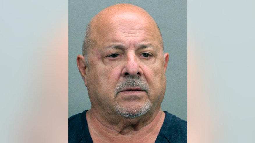 FILE - This booking file photo released by the Broward County Sheriff's Office shows Robert Paul DeLuca, a longtime member of the New England Mafia  who is expected to plead guilty to charges he lied to authorities investigating the 1993 slaying of a Boston nightclub owner. A change-of-plea hearing for DeLuca is scheduled for Friday, Nov. 4, 2016, in federal court in Boston.  (Broward County Sheriff's Office via AP)
