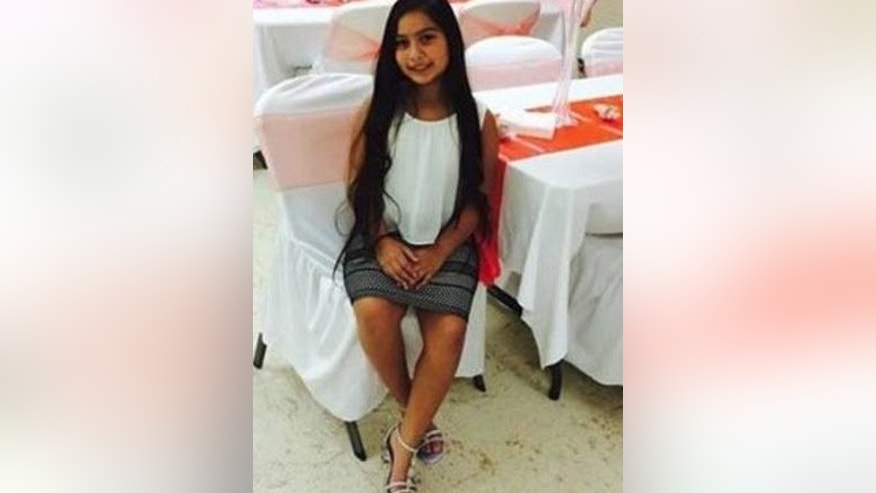 This undated photo shows 10-year-old Kayla Gomez-Orozco, who has been missing since Tuesday, Nov. 1, 2016. Remains believed to be hers were found Saturday.
