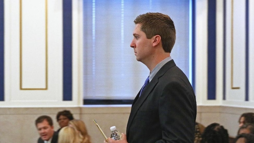 Ray Tensing in court Friday.