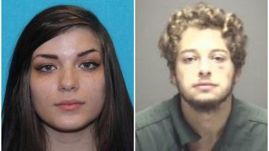 These undated photos show Kirsten Fritch, left, and Jesse Dobbs