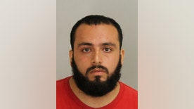 FILE - This September 2016 file photo provided by Union County Prosecutor's Office shows Ahmad Khan Rahimi. Rahimi, accused of setting off bombs in New Jersey and New York was moved from a hospital to a state prison Tuesday, Oct. 18, according to the New Jersey Corrections Department spokesman. (Union County Prosecutor's Office via AP, File)