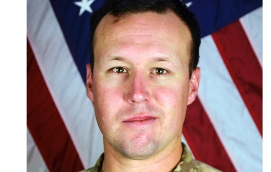 This undated photo provided by the Fort Hood, Texas Press Center shows U.S. Army Sgt. John W. Perry of Stockton, Calif. The Department of Defense said Monday, Nov. 14, 2016, that Perry died Saturday, Nov. 12 from injuries inflicted by an improvised explosive device in Bagram, Afghanistan. Perry was assigned to Headquarters and Headquarters Company, 1st Special Troops Battalion, 1st Sustainment Brigade, 1st Cavalry Division out of Fort Hood, Texas. (AP Photo/Department of Defense)