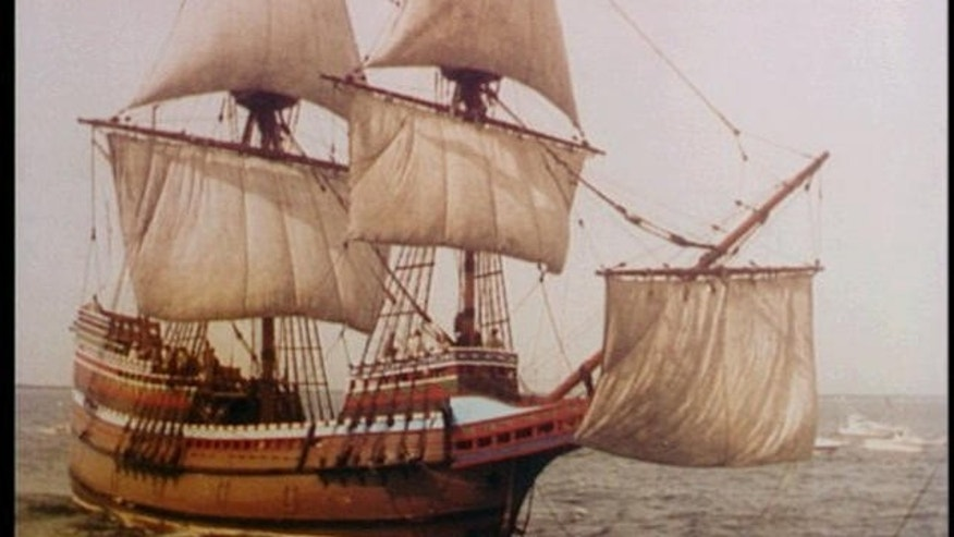 In 1620, the Mayflower set out from Plymouth, England with some 100 passengers that included people fleeing religious persecution, as well as others seeking prosperity and the chance to build a new life. After more than two months of travel, they ended up near Cape Cod, Massachusetts, eventually settling in another part of the state where they set up a village. Within a year, about half had died.