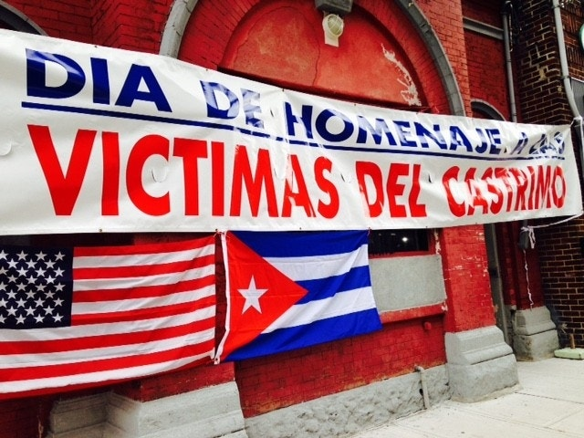 New Jersey's Cubans break out champagne, but also express sadness over relatives who died before Castro