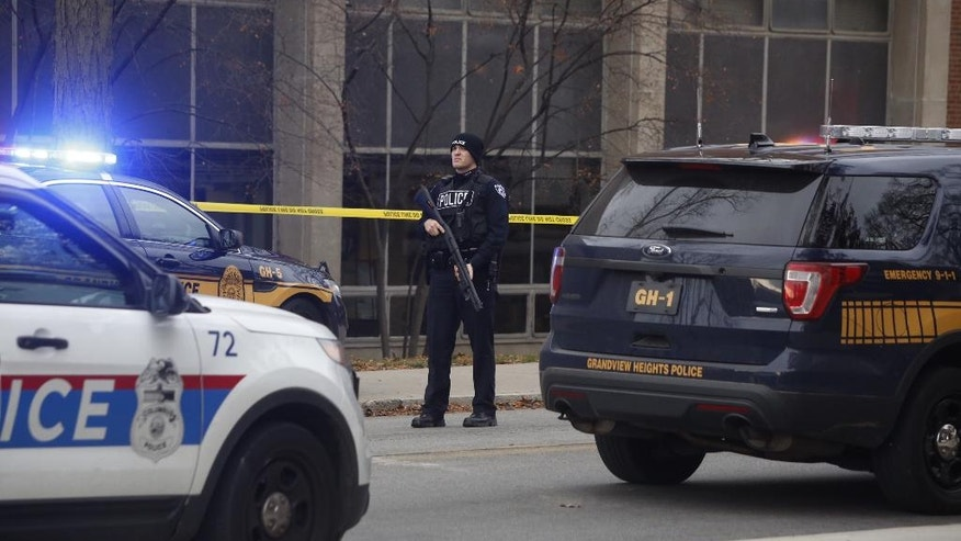 7 taken to hospital in Ohio State shooting