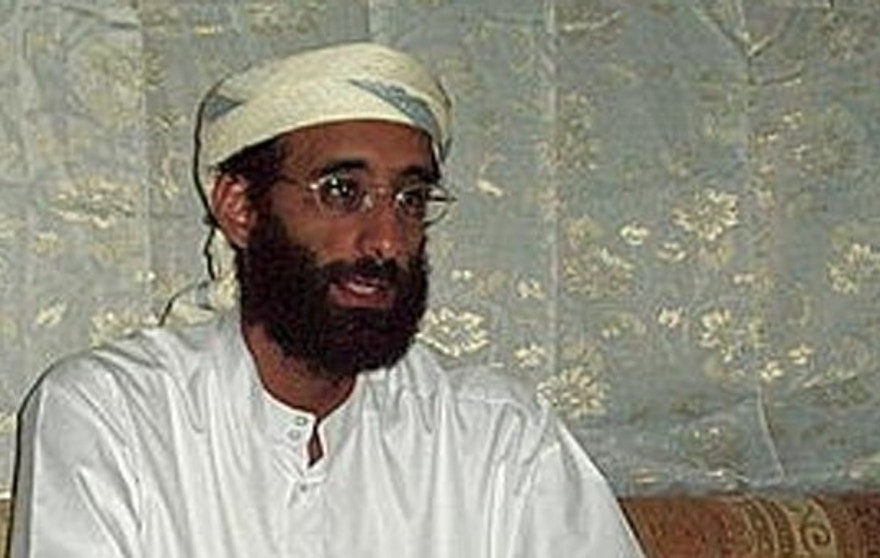 Imam Anwar al-Awlaki in Yemen October 2008, taken by Muhammad ud-Deen. Wiki media public domain from http://en.wikipedia.org/wiki/File:Awlaki_1008.JPG