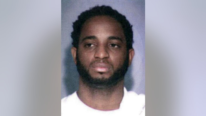 "This undated photo provided by the FBI shows fugitive Marlon Jones who is wanted for multiple counts of murder in Los Angeles. The FBI has added Jones, a Jamaican fugitive to its most-wanted list as a suspect in the slaying of four people at a Los Angeles birthday party in October. The FBI announced a reward on Thursday, Dec. 1, 2016 of up to $100,000 for information leading to the arrest of Jones who should be ""considered armed and extremely dangerous."" (FBI via AP)"