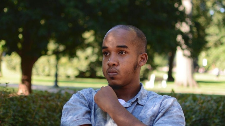 FILE – This August 2016 image provided by TheLantern.com shows Abdul Razak Ali Artan in Columbus, Ohio. Authorities identified Abdul Razak Ali Artan as the Somali-born Ohio State University student who plowed his car into a group of pedestrians on campus and then got out and began stabbing people with a knife Monday, Nov. 28, 2016, before he was shot to death by an officer. The Ohio State University attack is the latest in a series of cases involving young men who apparently became radicalized in the heartland state. (Kevin Stankiewicz/TheLantern.com via AP, File)