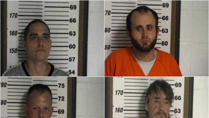 Christmas Day jailbreak leaves 4 Tennessee inmates at-large