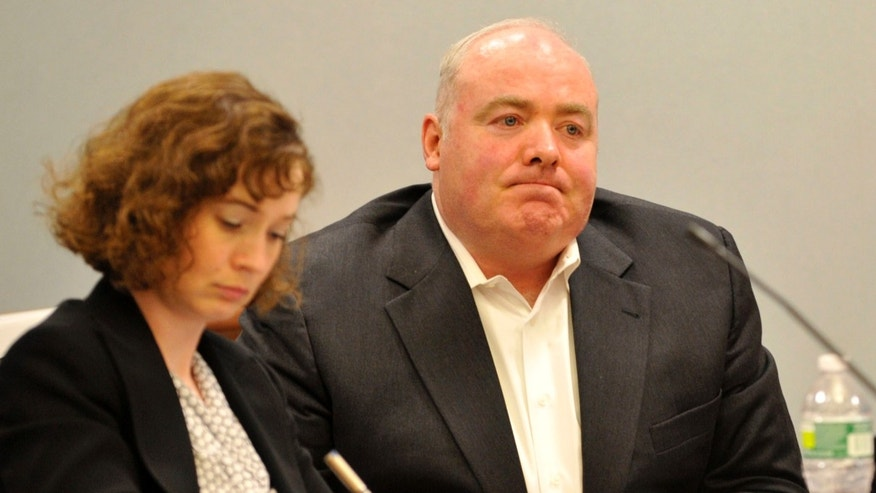 Michael Skakel, right, in 2013.