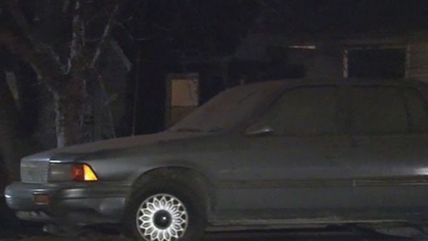 A mummified body was found in this old Plymouth. (Fox 2 Detroit)
