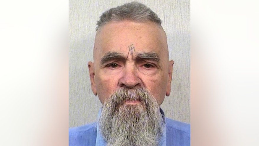 FILE - This Oct. 8, 2014 file photo provided by the California Department of Corrections and Rehabilitation shows serial killer Charles Manson. California prison official says cult killer Manson is alive following reports that he was hospitalized on Tuesday, Jan. 3, 2017. (California Department of Corrections and Rehabilitation via AP, File)