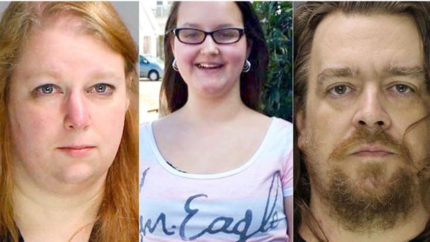 Photos of Sara Packer, 41, Grace Packer, 14, and Jacob Sullivan, 44. (Bucks County Prosecutor's Office)
