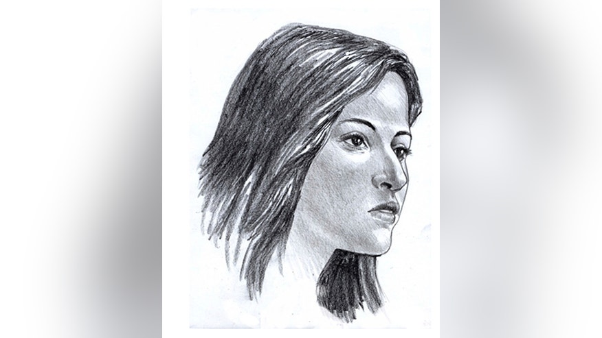 This artist rendering made by Steve Missal for the Gwinnett County Medical Office shows a sketch of woman whose skull and bones were found in a suitcase along a Georgia interstate northeast of Atlanta. Gwinnett County police told news outlets Tuesday, Jan 11, 2017, that a forensic anthropologist examined the remains, which were discovered by a state constructor worker. Authorities also believe the woman had suffered from slight scoliosis and had signs of healed rib injury. (Steve Missal via AP)
