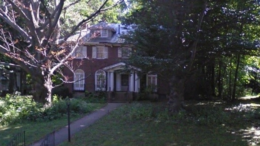 The home in Brookline, Mass.