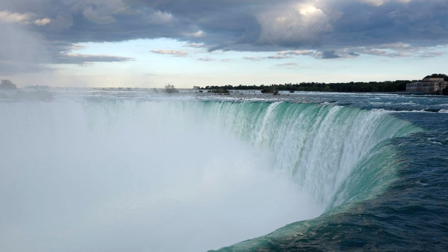 Aug. 21, 2015: A general view taken from the Canadian side shows the Horseshoe Falls in Niagara from the Canadian side in Niagara Falls, Ontario.