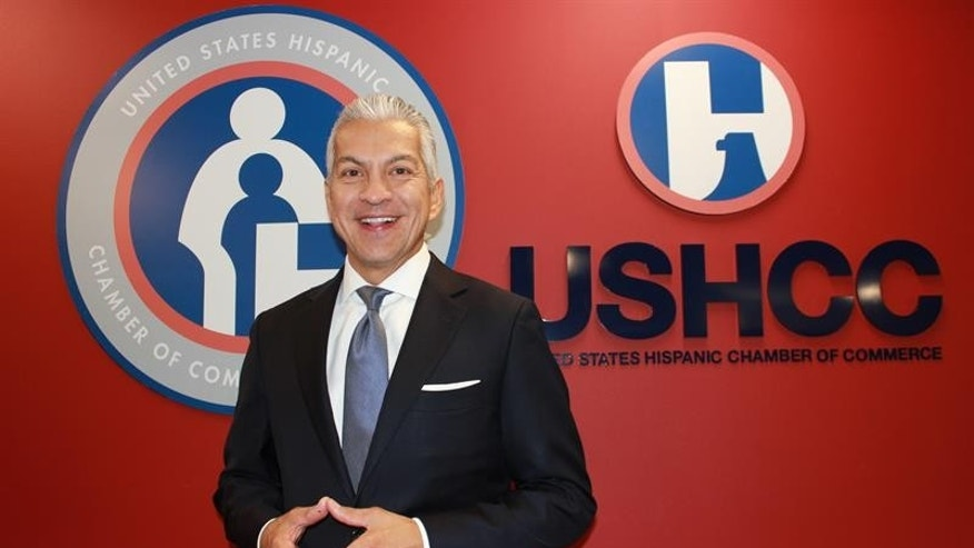 Hispanic Chamber of Commerce President Javier Palomarez in September 2014