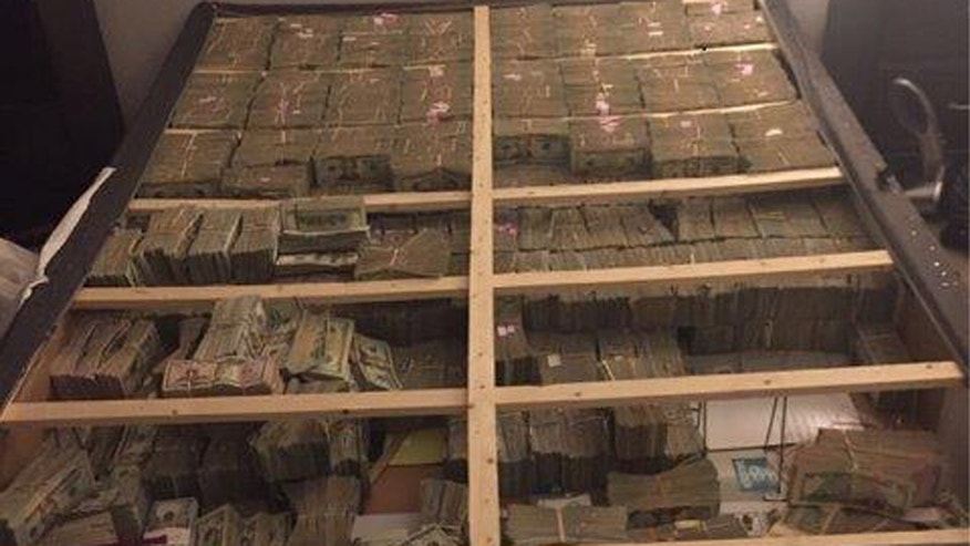$20M found hidden in box spring