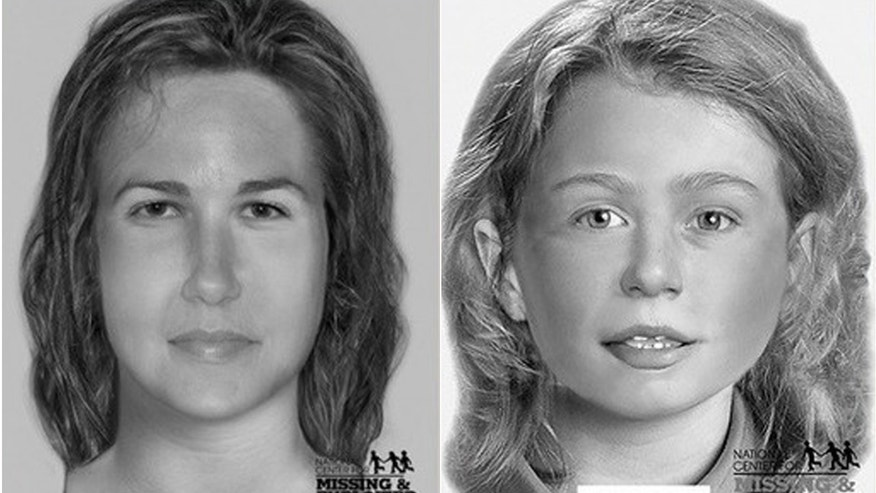 Investigators released composite sketches of four of the victims whose names are not known.