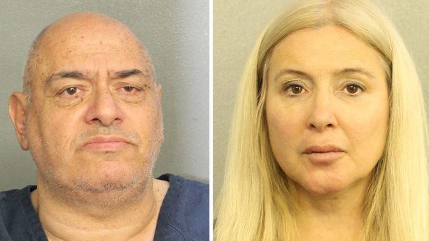 Issak Almaleh (left) and Antoaneta Iotova (right) were arrested on charges of conspiracy to commit bank fraud.