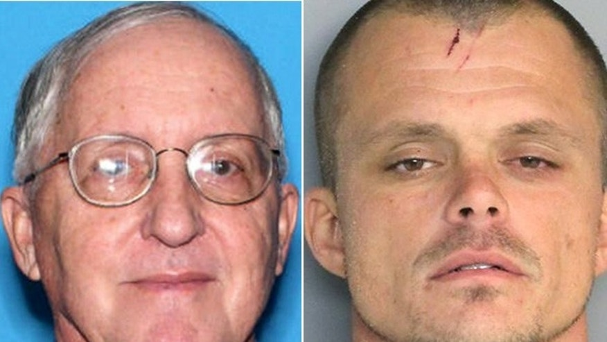 Rev. Rene Robert, left, has become an unlikely ally of the man accused of killing him -- Steven Murray.