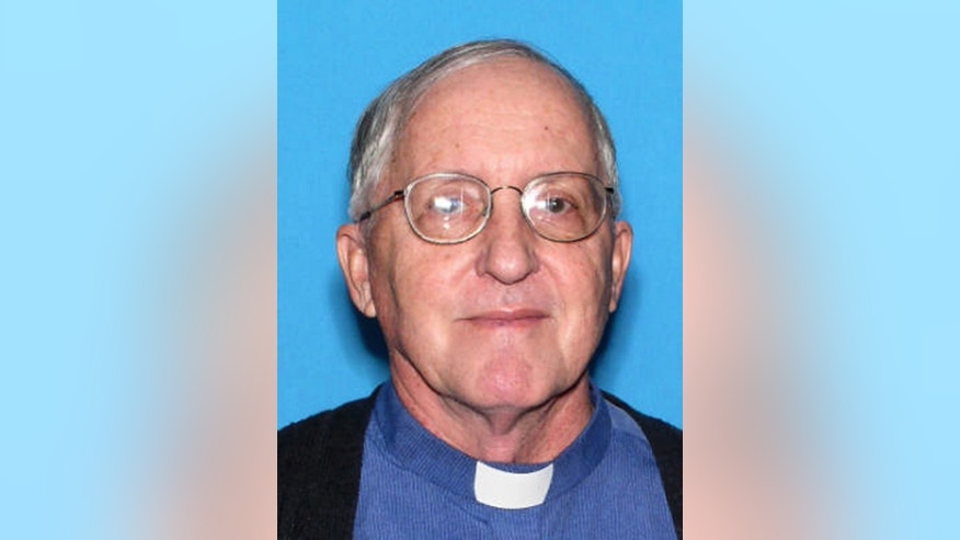 "FILE-This undated file photo provided by St. Johns County Sheriffs Office via Florida Department of Highway Safety and Motor Vehicles, shows Father Rene Wayne Robert, a Roman Catholic priest in Florida whose body was found in rural east Georgia, in 2016. Robert devoted his life to helping society's most troubled people, a mission that continues even after his death. The priest signed a ""Declaration of Life"" insisting that in the event of his murder, his killer should not face execution. (FHSMV/St. Johns County Sheriffs Office via AP, File)"