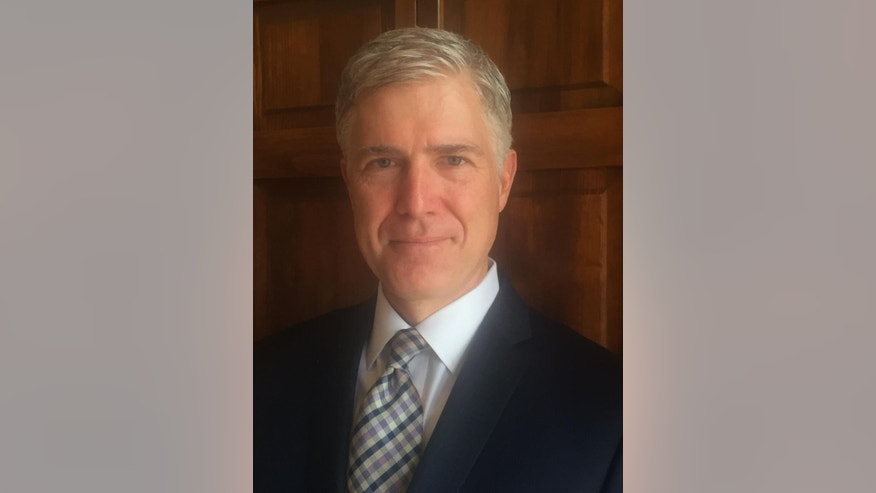 This photo provided by the 10th U.S. Circuit Court of Appeals shows Judge Neil Gorsuch. Conservatives who care about the court say they have no such worry this time around. They feel confident that whomever President Donald Trump nominates for the Supreme Court, they won't be looking back with regret in the years to come. (10th U.S. Circuit Court of Appeals via AP)