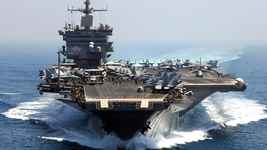 Navy decommissions 'legendary' carrier that shaped history