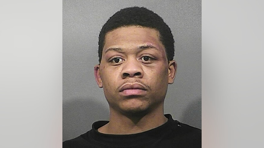 This undated photo provided by the Lake County Sheriff's Department in Crown Point, Ind., shows Carl Le'Ellis Blount, who was sentenced Wednesday, Feb. 8, 2017, to life in prison without parole for fatally shooting July 6, 2014, of an Indiana police officer sitting in his patrol car. (Lake County (Ind.) Sheriff's Department via AP)
