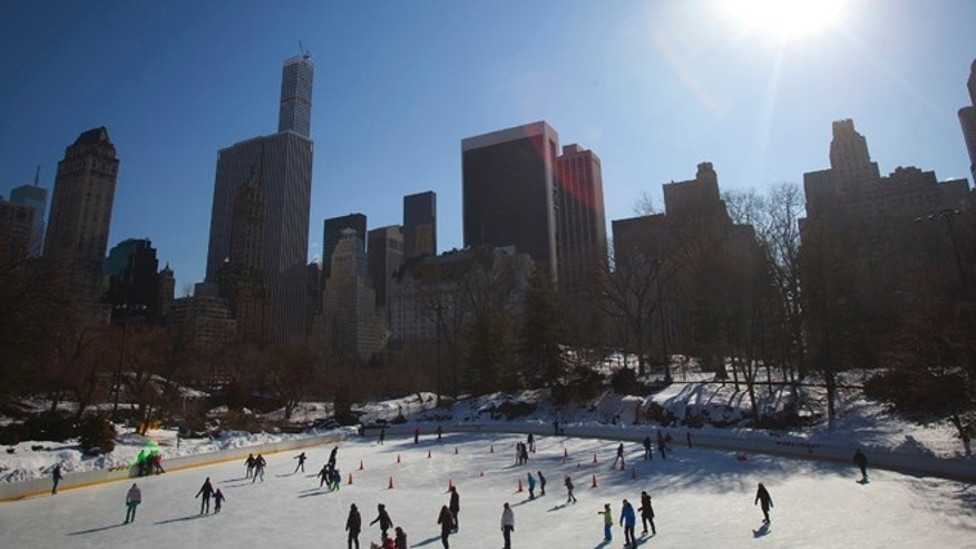 Wollman Rink in February 2015.