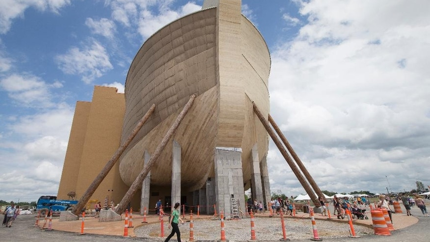 The Ark Encounter in July 2016.