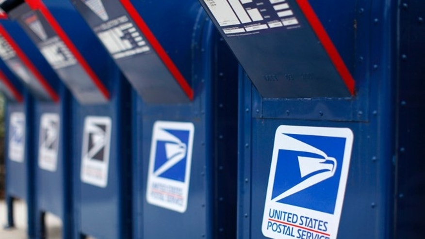 The postal worker was indicted on Wednesday.