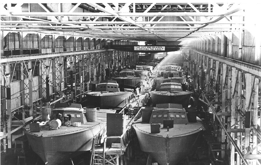 Axis Boats For Sale >> Andrew Higgins, maker of PT boats, hailed as 'man who won ...
