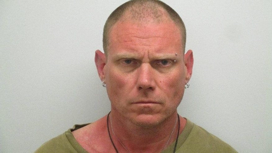 This photo provided by Monroe County Sheriff's Office shows Edward Quinton.   Florida Keys authorities say Quinton stole a forklift and crashed into a gate, telling deputies he lost his car keys and needed something to drive. Quinton was quoted as saying that after he lost his keys Thursday, March 9, 2017,  he needed a vehicle and took the forklift from a Marathon marina because he knew how to drive one.  Breath tests showed Quinton's blood-alcohol level was twice Florida's legal limit.  (Monroe County Sheriff's Office via AP)
