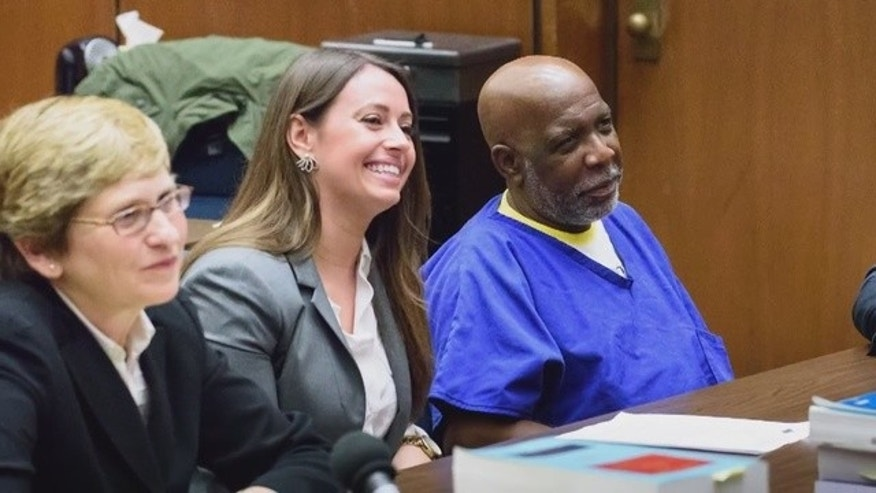 LA man walks free after he's exonerated in 1984 murder