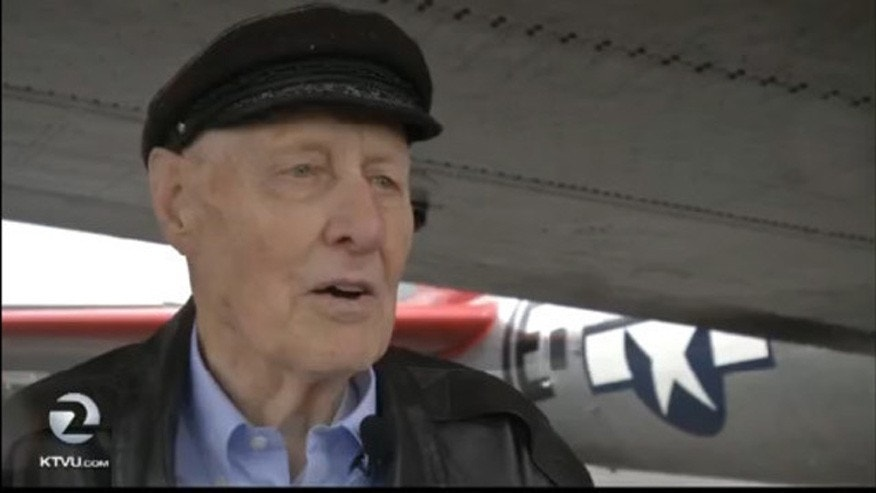 World War II veteran Bill Hermann, 92.