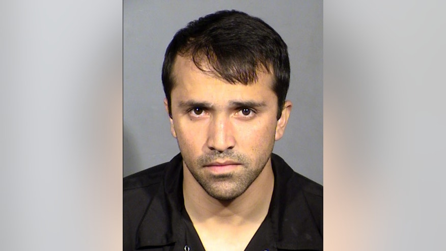 This Wednesday, March 22, 2017 booking photo provided by the Las Vegas Metropolitan Police Department shows Abdul Based, a taxi cab driver for the Lucky Cab Company of Nevada. Police say Based, has been arrested after the cab company found footage of him sexually assaulting an incapacitated customer. (AP Photo/Las Vegas Metropolitan Police Department)