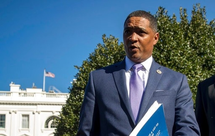 "In this March 22, 2017, photo, Rep. Cedric Richmond, D-La., the chairman of the Congressional Black Caucus speaks to members of the media at the White House in Washington. Black members of Congress are calling for the Justice Department to help police investigate a large number of missing children in Washington. The District of Columbia logged 501 cases of missing juveniles, many of them black or Latino, in the first three months of this year according to the Metropolitan Police Department, the city's police force. Twenty-two were unsolved as of March 22, police said. The letter, dated Tuesday and obtained March 23, by The Associated Press, was sent by Richmond and Del. Eleanor Holmes Norton, who represents the District in Congress. They called on Attorney General Jeff Sessions and FBI Director James Comey to ""devote the resources necessary to determine whether these developments are an anomaly or whether they are indicative of an underlying trend that must be addressed."" (AP Photo/Andrew Harnik)"